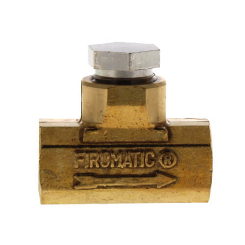 """3/8"""" FPT Inline Check Valve Product Image"""