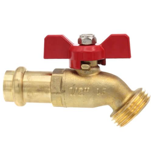 """1/2"""" Press-Fit Boiler Drain Product Image"""