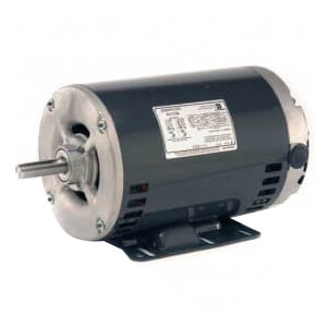 """6.3"""" 3 Phase Commercial Belt Drive Blower Motor (208-230/480V, 1.5 HP, 1800 RPM) Product Image"""