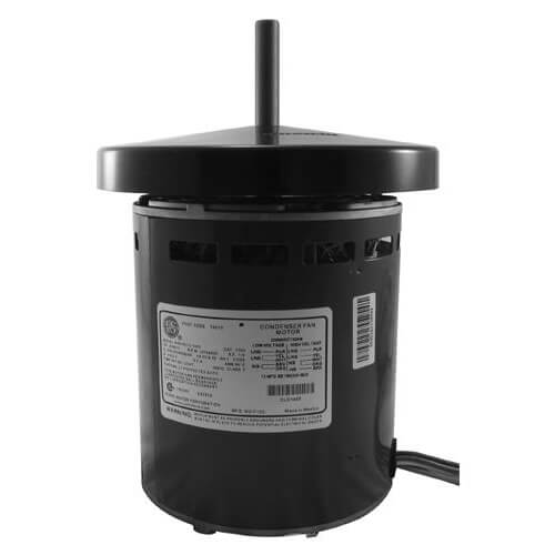 """6.3"""" 3 Phase Commercial Condenser Fan Motor (200-230/460V, 1 HP, 1140 RPM) Product Image"""
