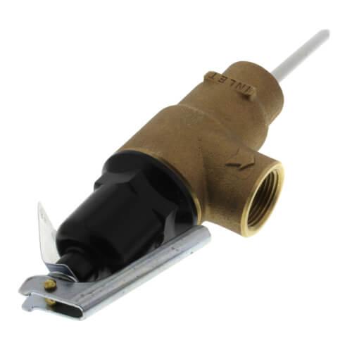 """1-1/2"""" MNPT x 1-1/2"""" FNPT Commercial ASME T&P Relief Valve (4"""" Element, 150 psi) Product Image"""