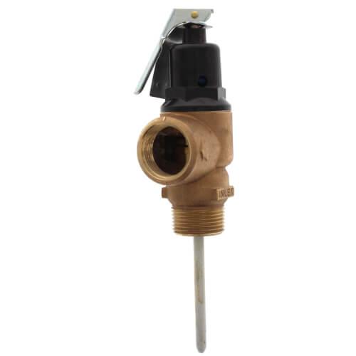 """3/4"""" FNPT x 3/4"""" FNPT Commercial ASME T&P Relief Valve (3"""" Element, 150 psi) Product Image"""
