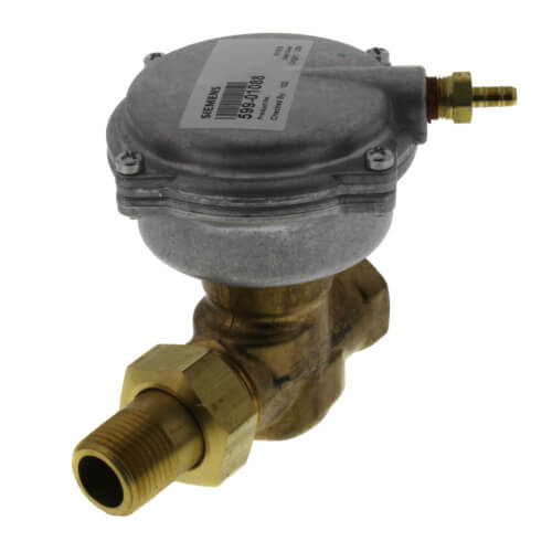 """1/2"""" F x UM 2-Way Normally Open Valve Assembly, 3-8 psi, 2.5 Cv Product Image"""