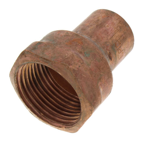 """3/4"""" x 1"""" Copper x Female Adapter Product Image"""
