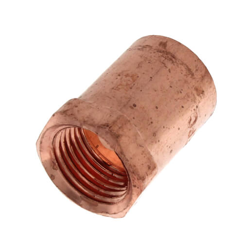 """3/4"""" x 1/2"""" Copper x Female Adapter Product Image"""