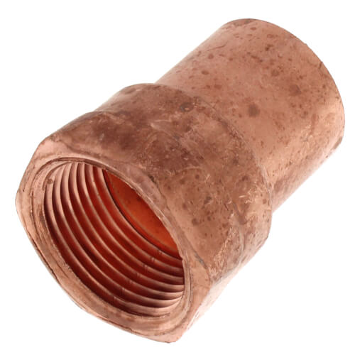 """1"""" Copper x Female Adapter Product Image"""