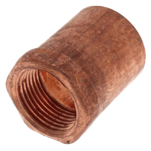 """1"""" x 3/4"""" Copper x Female Adapter Product Image"""