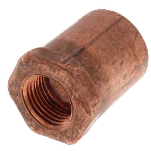"""1"""" x 1/2"""" Copper x Female Adapter Product Image"""