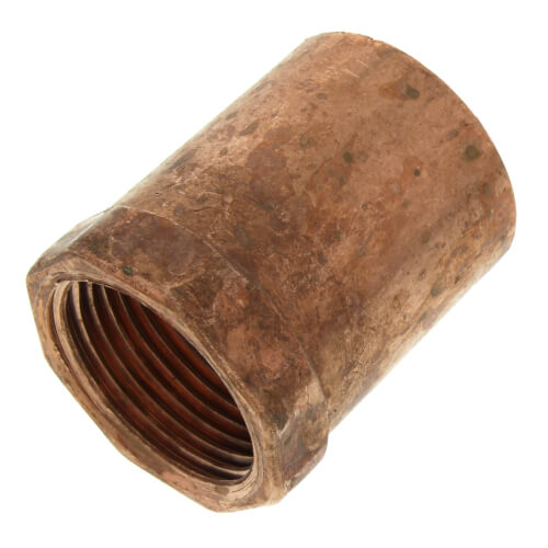 """1-1/4"""" x 1"""" Copper x Female Adapter Product Image"""