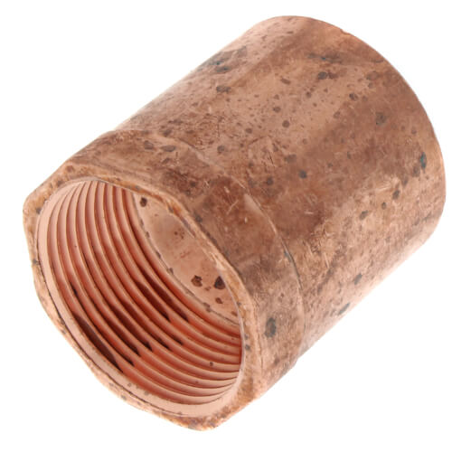 """1-1/2"""" x 1-1/4"""" Copper x Female Adapter Product Image"""
