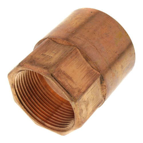 """2"""" x 1-1/2"""" Copper x Female Adapter Product Image"""