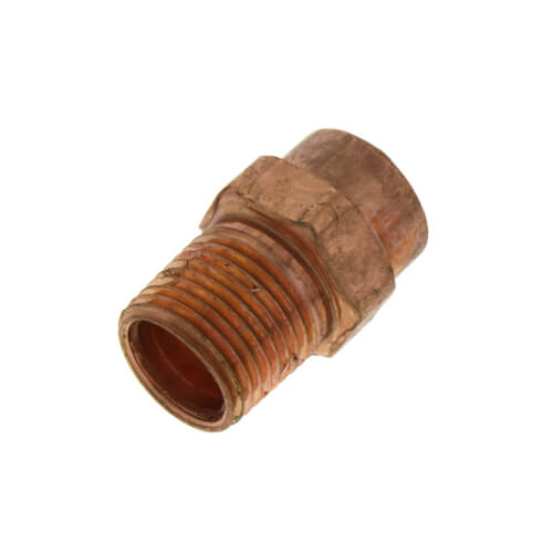 """1/2"""" x 3/8"""" Copper x Male Adapter Product Image"""
