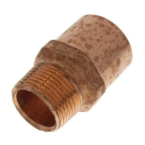 """1"""" x 3/4"""" Copper x Male Adapter Product Image"""