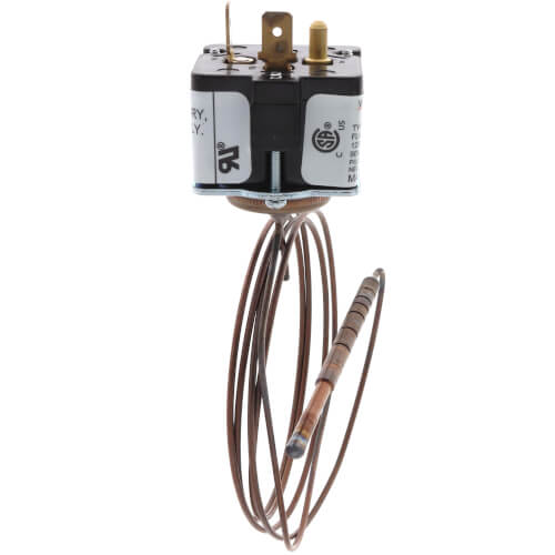 """Mercury Flame Sensor, Two 1/4"""" Spade Terminals, 48"""" Element, Bulb Style #20 Product Image"""