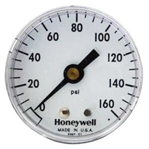 "2"" Back Mount Pressure Indicating Gauge, 0-160 psi (1/4"" NPT) Product Image"