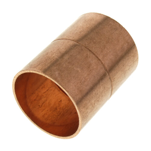 """1-1/4"""" Copper Ring Coupling Product Image"""