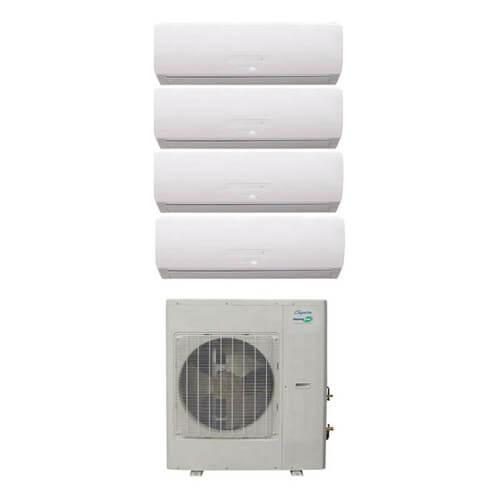 29,000 BTU InverterFlex Four Zone Heat Pump Package (9+9+9+9) Product Image