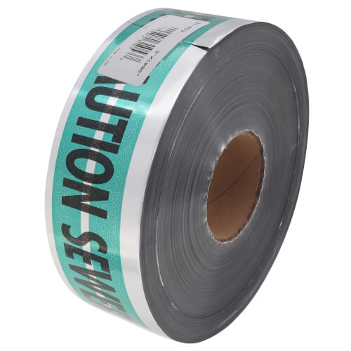 """MAGNATEC """"Caution Sewer Line Below"""" Tape (3"""" x 1000 Ft) Product Image"""