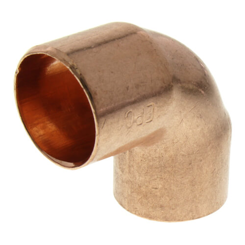 """1/2"""" Copper 90° Elbow Product Image"""