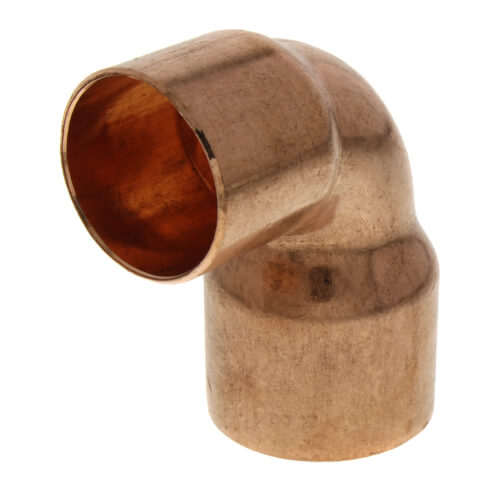 """1-1/4"""" x 1"""" Copper 90° Elbow Product Image"""