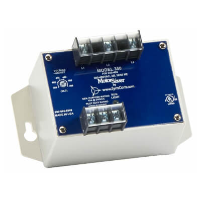 3 Phase DPDT Variable Restart Delay Line Voltage Monitor (190-240V) Product Image