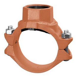"""6"""" x 2"""" 7045 Clamp-T with FTP Branch Product Image"""