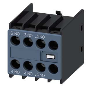Auxiliary Switch Contact Block, 3NO, for 3RH & 3RT Contactors Product Image