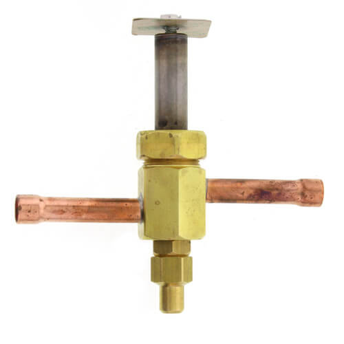 """3/8"""" ODF R26E63M Normally Closed Refrigeration Solenoid Valve Product Image"""