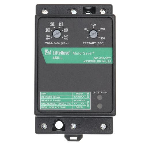 3 Phase Form C Adjustable Voltage Monitor (190-480V) Product Image