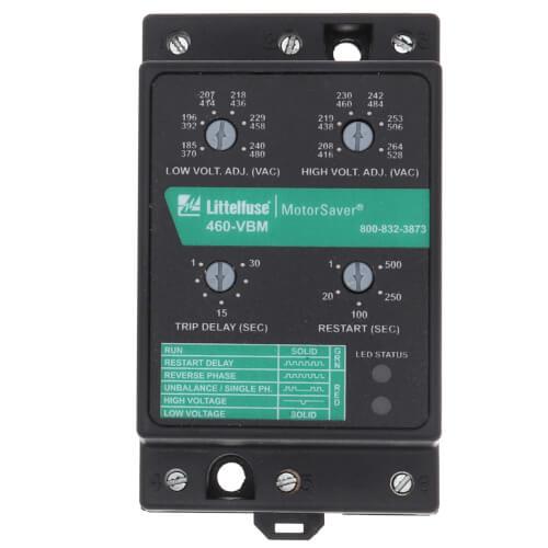 3 Phase Form C Fixed Voltage Monitor (190-480V) Product Image