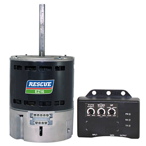 RESCUE EZ16 OAO ECM Direct Drive Blower Motor (115/208-230V, 1/2-1/3 HP, 1075 RPM) Product Image