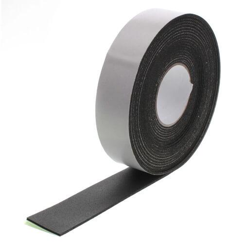 "1/8"" x 2"" x 30 Ft. Black Foam Insulation Tape Product Image"