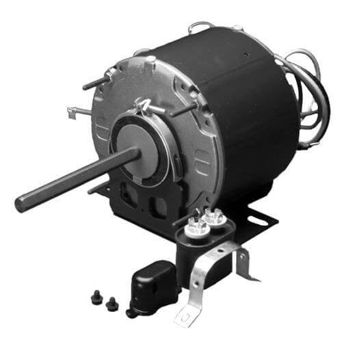 1-Phase OAO PSC Heatcraft Condenser Fan Motor, 48Y (208-230V, 1/3 HP, 1075 RPM) Product Image
