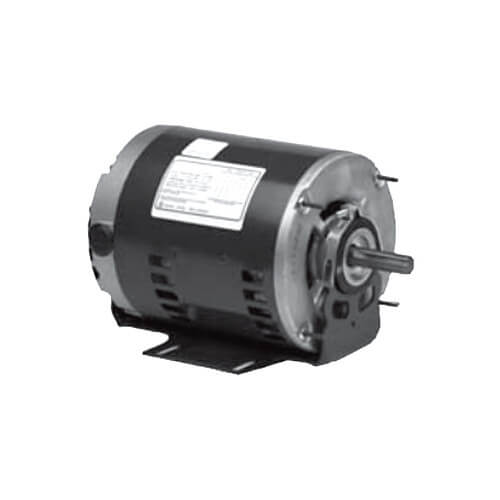 3-Phase ODP Polyphase Commercial Belt-Drive Blower Motor, 56HZ (200-230/460V, 1-1/2 HP, 1725 RPM) Product Image