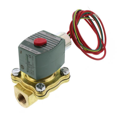 """3/8"""" NPT Normally Closed Solenoid Valve Product Image"""