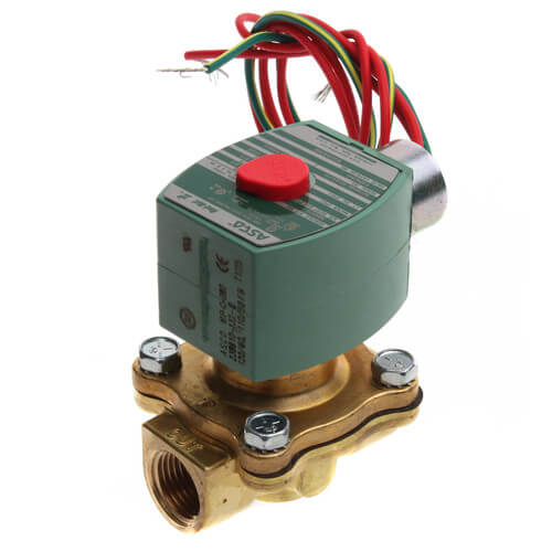 """1/2"""" Normally Closed Solenoid Valve, LP (120v) Product Image"""