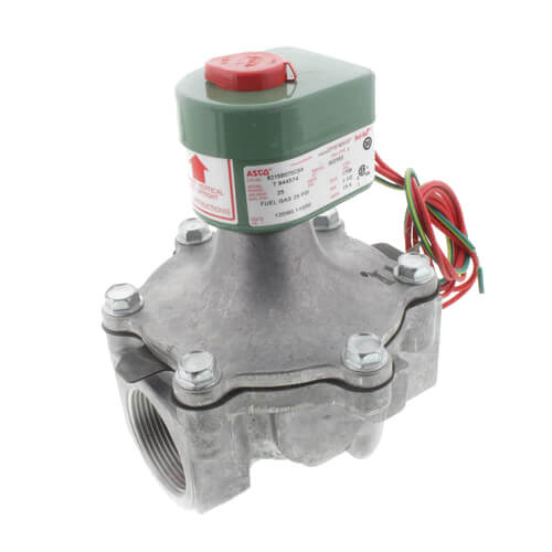 """1"""" Normally Closed Aluminum Solenoid Air/Gas Valve (0-25 psi) Product Image"""