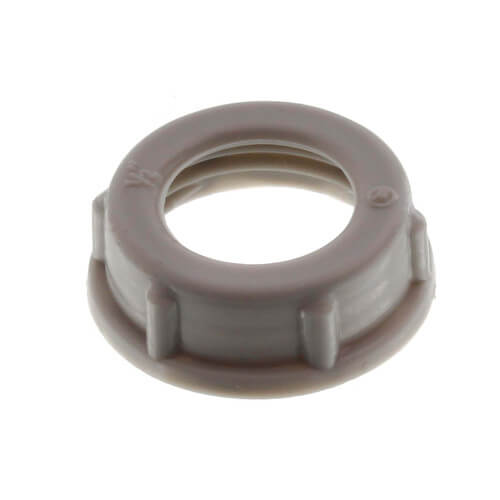 "1/2"" Insulating Plastic Conduit Bushing Product Image"