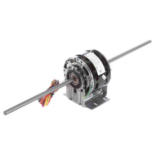 """5"""" 5-Speed Double Shaft Fan/Blower Motor (115V, 1050 RPM, 1/10 1/20 1/30 1/40 1/70 HP) Product Image"""