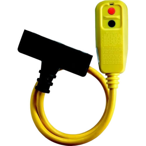 In-Line Tri-Tap Portable GFCI Product Image