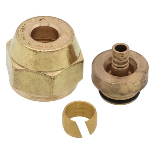 """5/16"""" QS-style Fitting Assembly - R20 thread Product Image"""