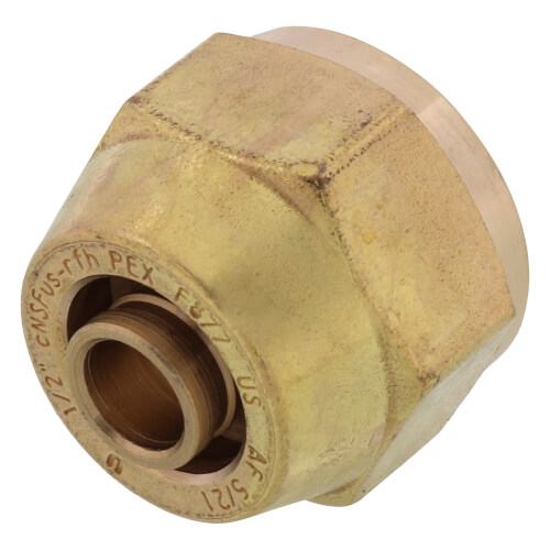 """1/2"""" QS-style Fitting Assembly, R20 thread Product Image"""