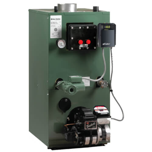 AP-154U 174,999 BTU Output, High Efficiency Oil-Fired Steel Water Boiler w/ Coil Product Image