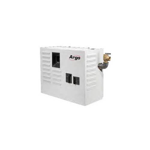 AT082410C 27,300 BTU, 8kW 2-Element Series C Electric Boiler (w/ Breakers) Product Image