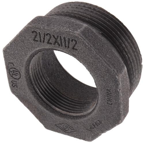 """2-1/2"""" x 1-1/2"""" Black Bushing Product Image"""