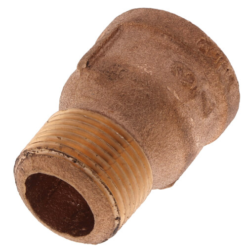 """3/4"""" Brass Extension Piece (Lead Free) Product Image"""