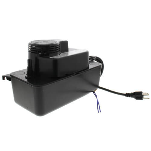Medium Condensate Pump w/ Safety Switch, 17 Ft Shutoff (1/50 HP, 115V) Product Image
