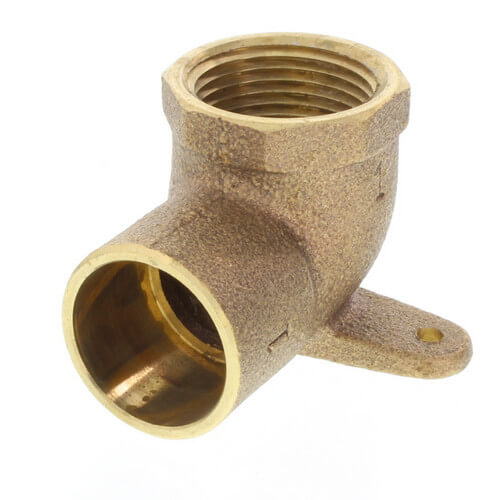 "1"" CxF 90° Drop Ear Elbow (Lead Free) Product Image"
