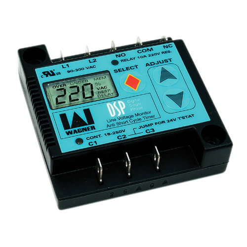 Digital 1-Phase Line Voltage Monitor Motor Protector Product Image