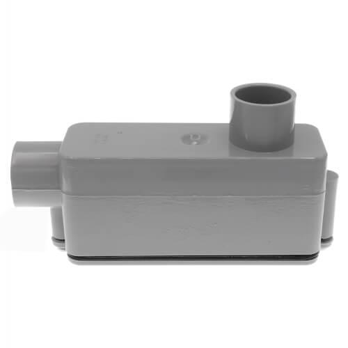 "3/4"" LB PVC Conduit Body Product Image"